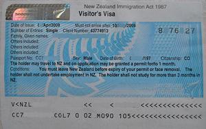 New Zealand Tourist Visa For Indians